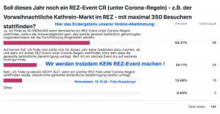 Soll ein 1. REZ-Fest CR (unter Corona-Regeln) stattfinden?