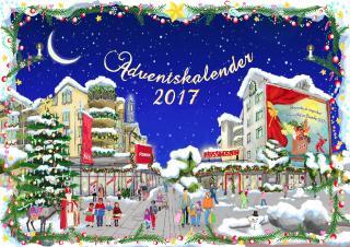Der REZ-Schoko-Adventskalender ist da!